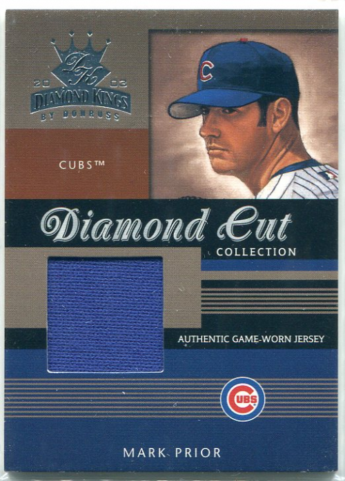 2003 Diamond Kings Diamond Cut Collection #63 Mark Prior Jsy/500