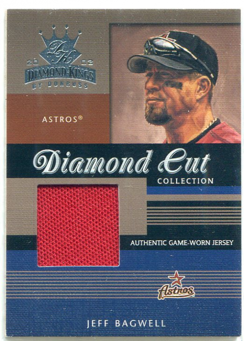 2003 Diamond Kings Diamond Cut Collection #67 Jeff Bagwell Jsy/500