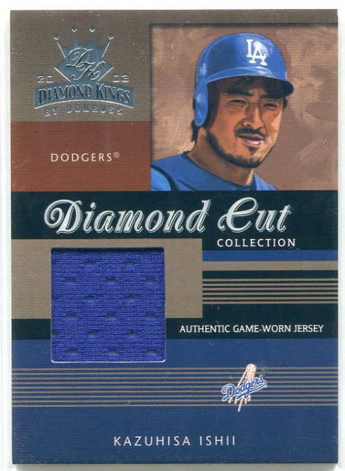 2003 Diamond Kings Diamond Cut Collection #70 Kazuhisa Ishii Jsy/250
