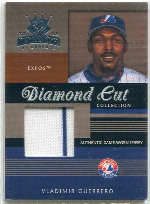 2003 Diamond Kings Diamond Cut Collection #71 Vladimir Guerrero Jsy/500