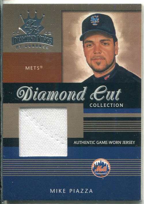 2003 Diamond Kings Diamond Cut Collection #72 Mike Piazza Jsy/500