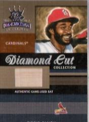 2003 Diamond Kings Diamond Cut Collection #77 Ozzie Smith Bat/450