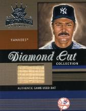 2003 Diamond Kings Diamond Cut Collection #79 Don Mattingly Bat/400