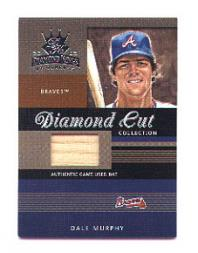2003 Diamond Kings Diamond Cut Collection #81 Dale Murphy Bat/350