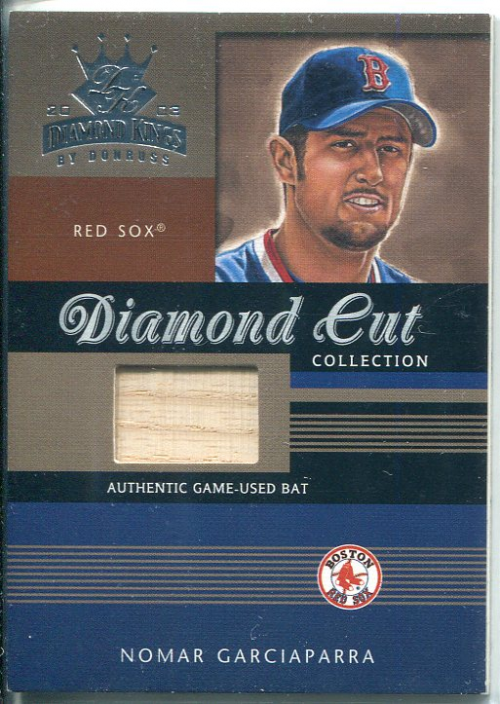 2003 Diamond Kings Diamond Cut Collection #86 Nomar Garciaparra Bat/500