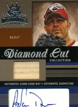 2003 Diamond Kings Diamond Cut Collection #109 Adam Dunn Bat-AU/50