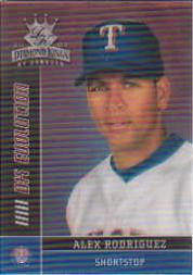 2003 Diamond Kings DK Evolution #8 Alex Rodriguez