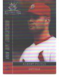2003 Diamond Kings DK Evolution #23 Albert Pujols