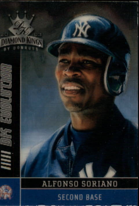 2003 Diamond Kings DK Evolution #25 Alfonso Soriano