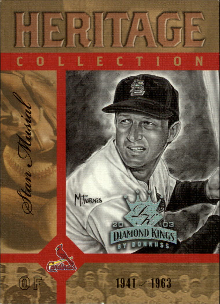 2003 Diamond Kings Heritage Collection #3 Stan Musial