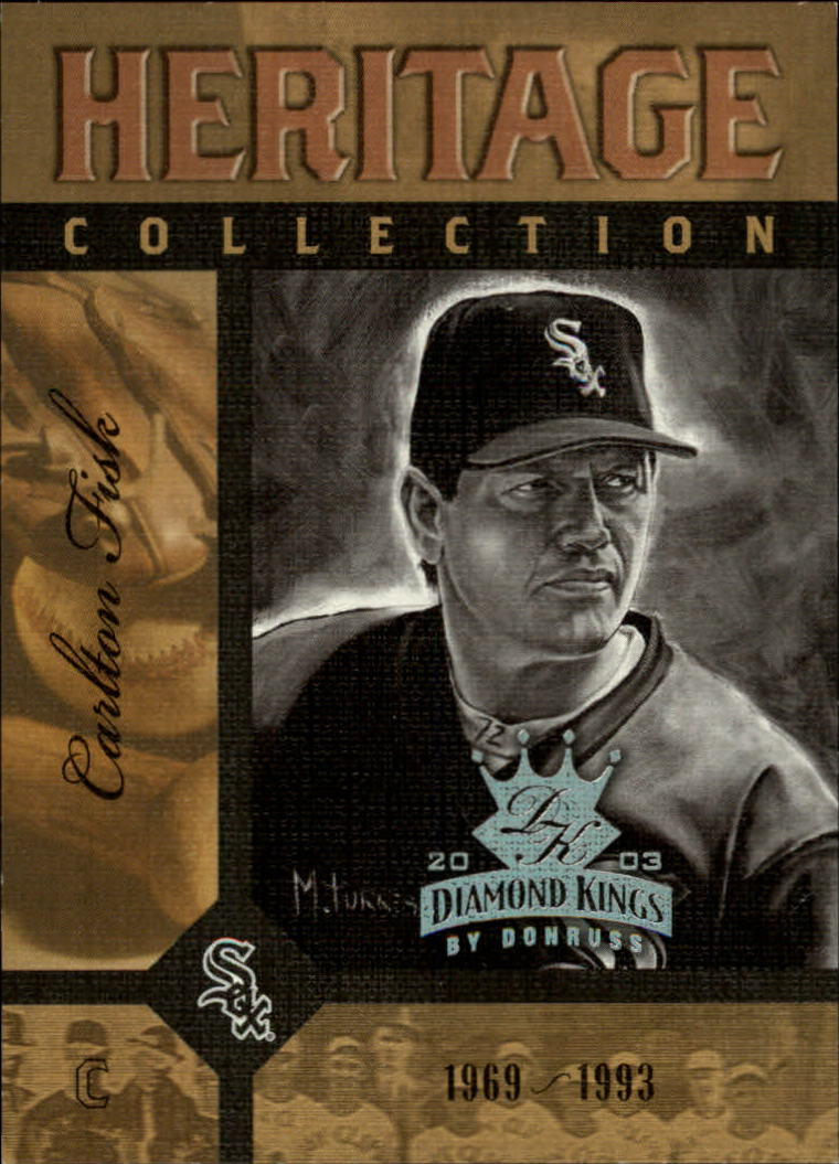 2003 Diamond Kings Heritage Collection #5 Carlton Fisk