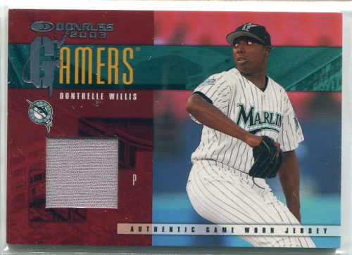 2003 Donruss Gamers #49 Dontrelle Willis
