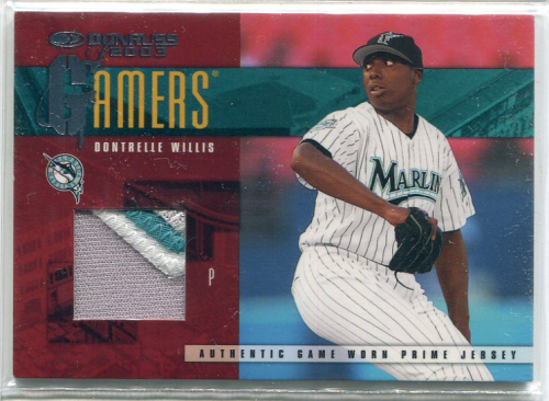 2003 Donruss Gamers Prime #49 Dontrelle Willis