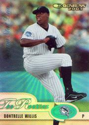 2003 Donruss Rookies Stat Line Season #18 Dontrelle Willis/12