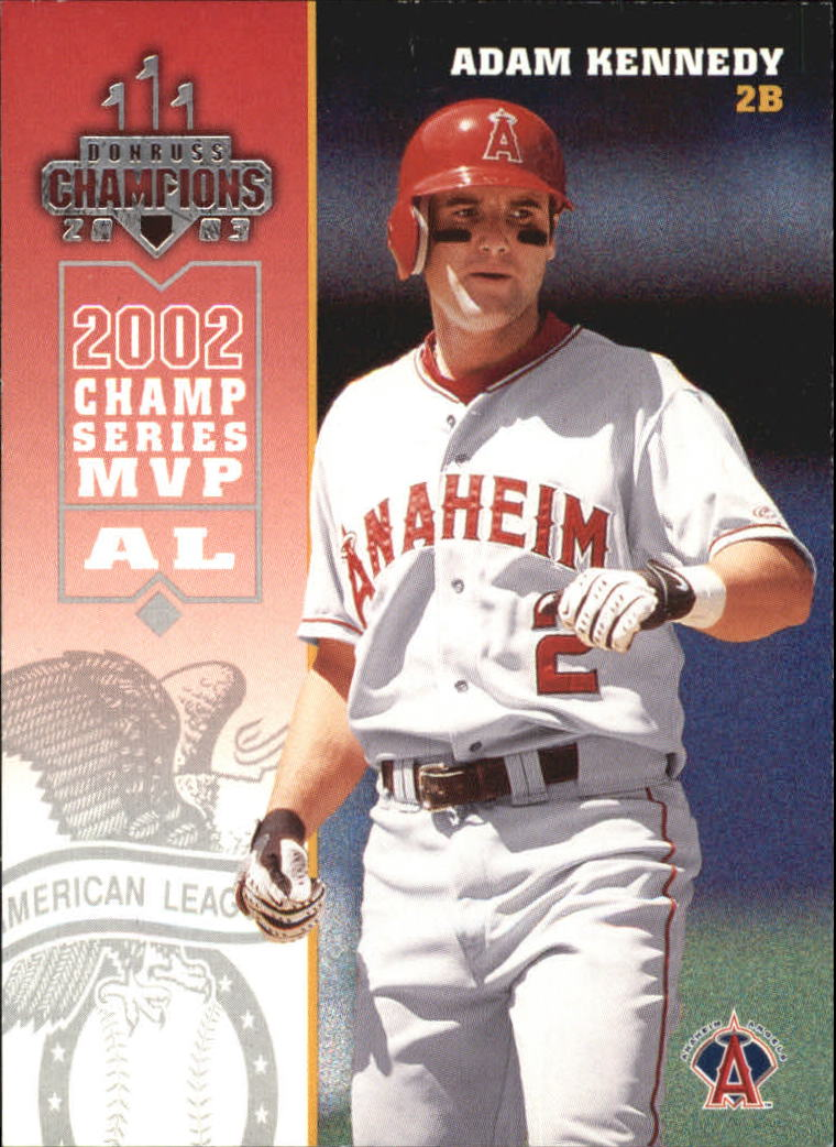 2003 Donruss Champions #1 Adam Kennedy