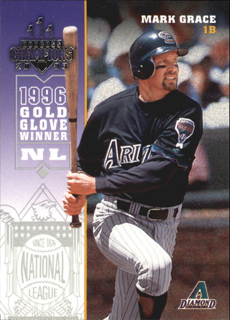 2003 Donruss Champions #15 Mark Grace