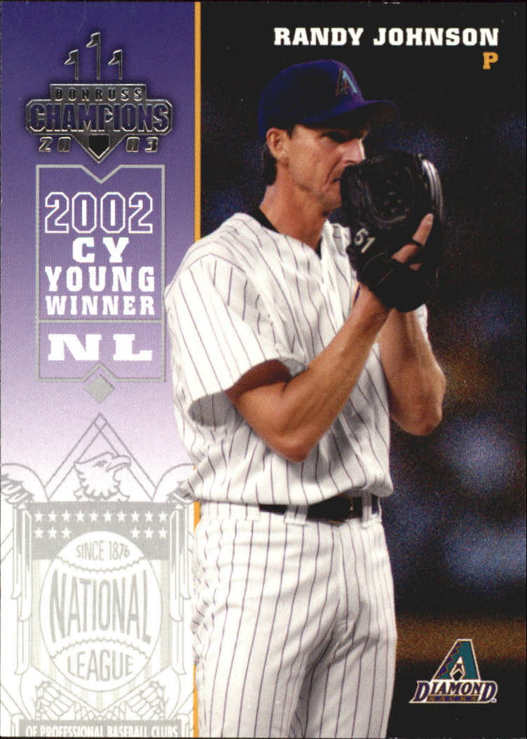 2003 Donruss Champions #16 Randy Johnson