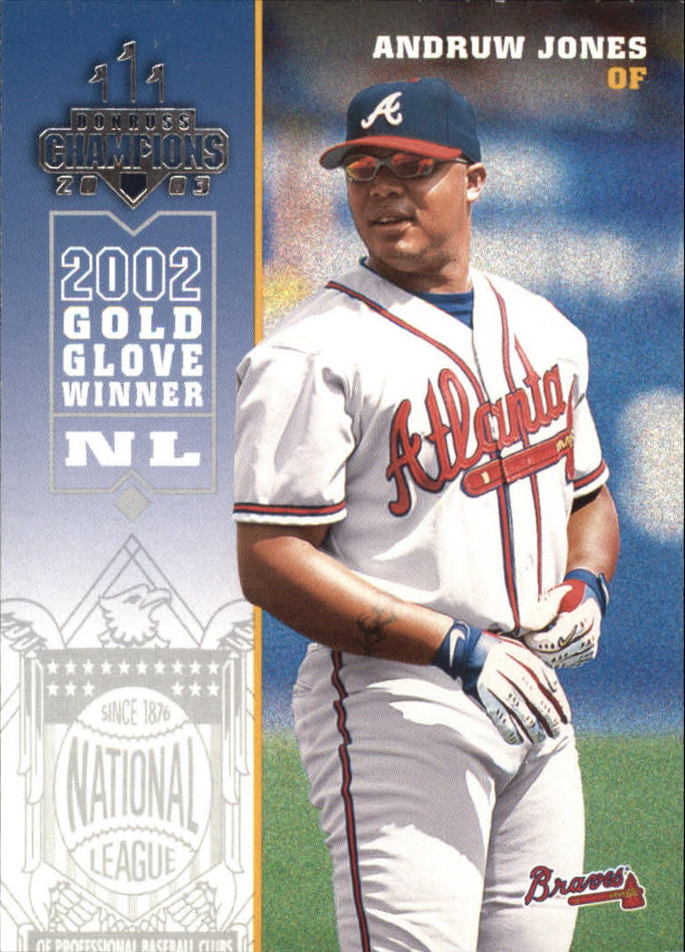 2003 Donruss Champions #18 Andruw Jones