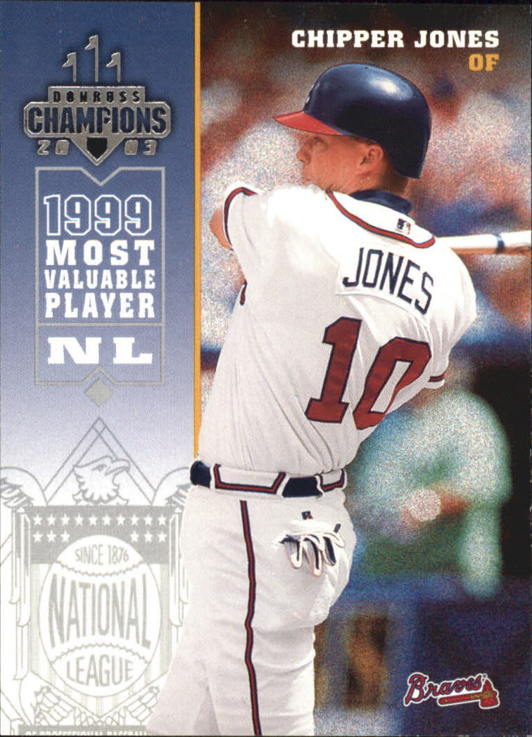 2003 Donruss Champions #19 Chipper Jones