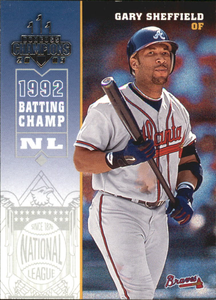2003 Donruss Champions #21 Gary Sheffield
