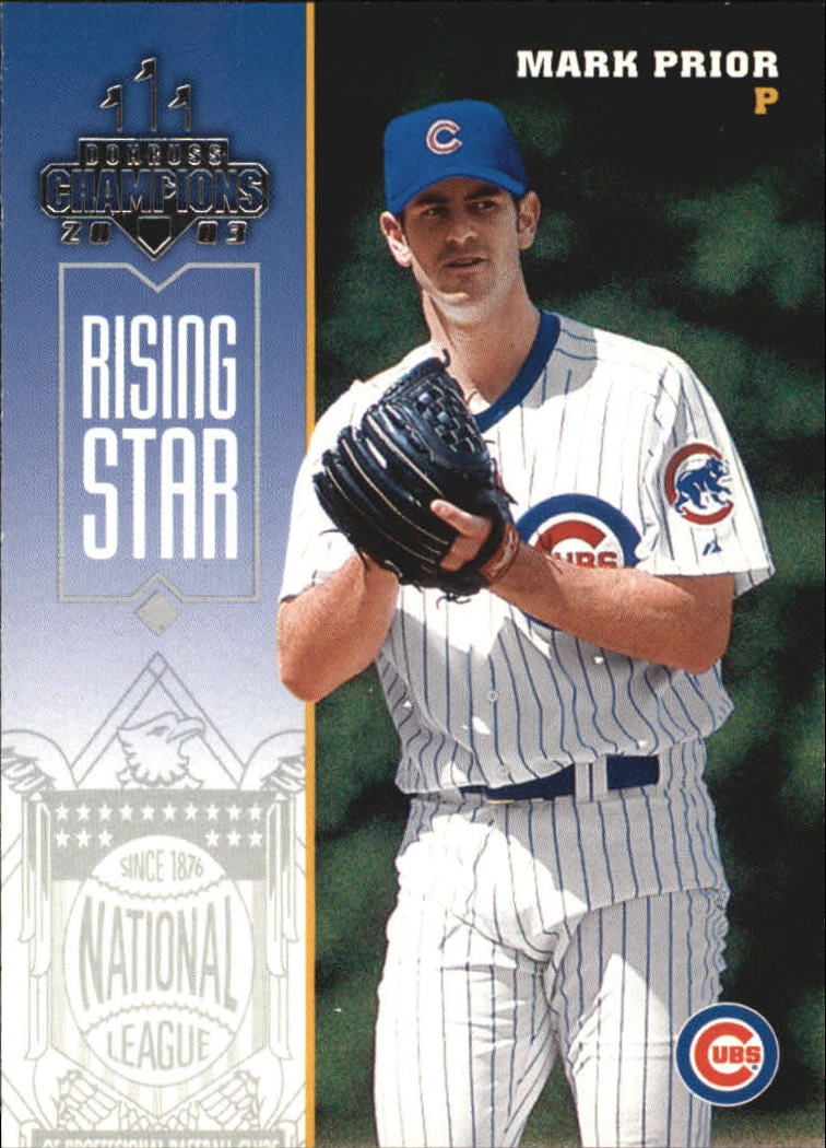 2003 Donruss Champions #51 Mark Prior