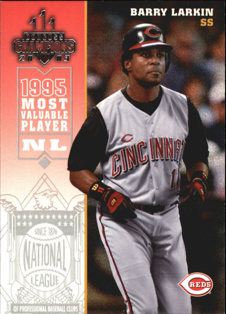 2003 Donruss Champions #68 Barry Larkin