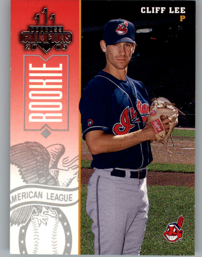 2003 Donruss Champions #78 Cliff Lee