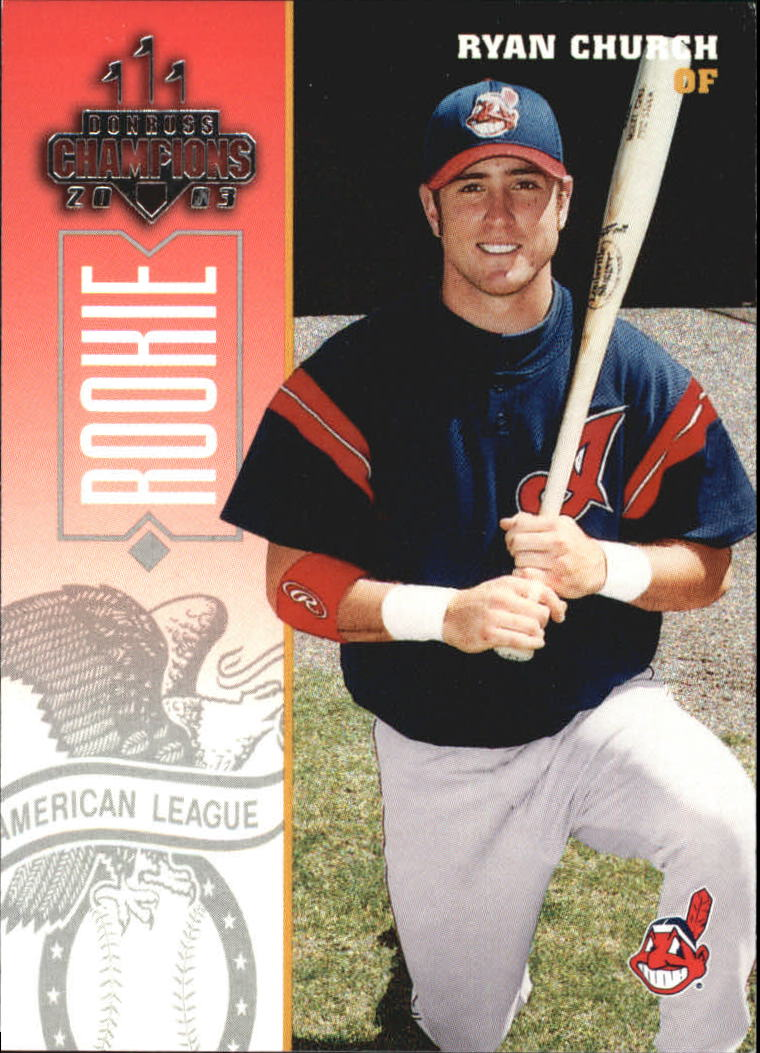 2003 Donruss Champions #86 Ryan Church