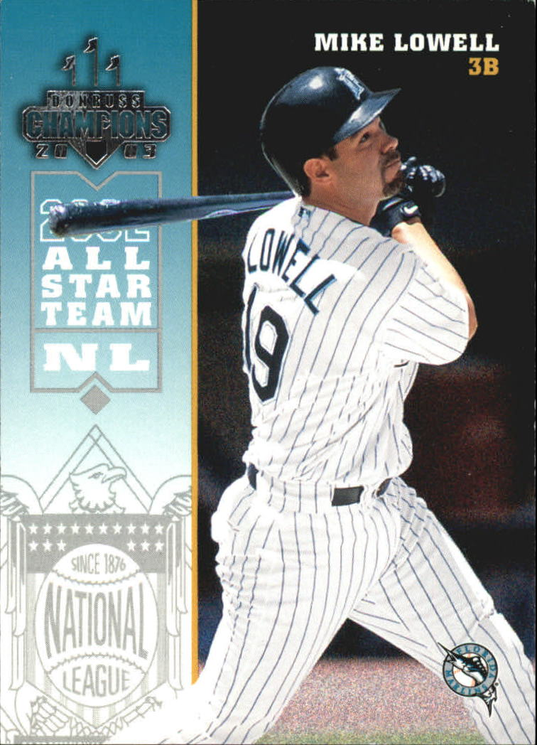 2003 Donruss Champions #107 Mike Lowell
