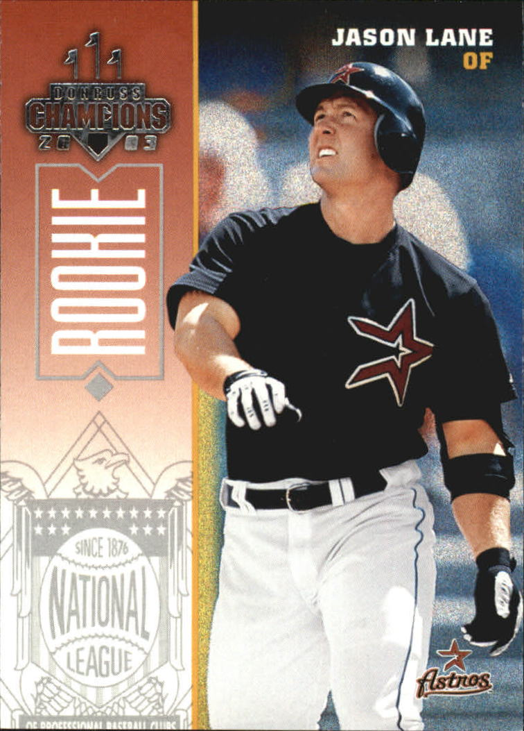 2003 Donruss Champions #114 Jason Lane