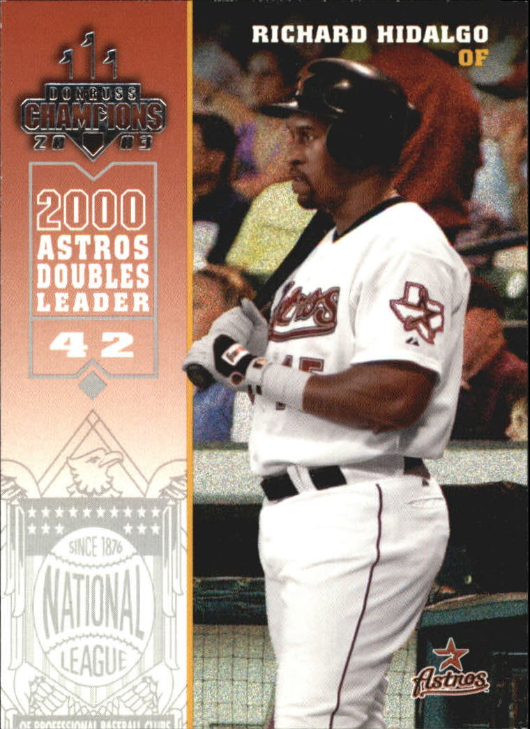 2003 Donruss Champions #120 Richard Hidalgo