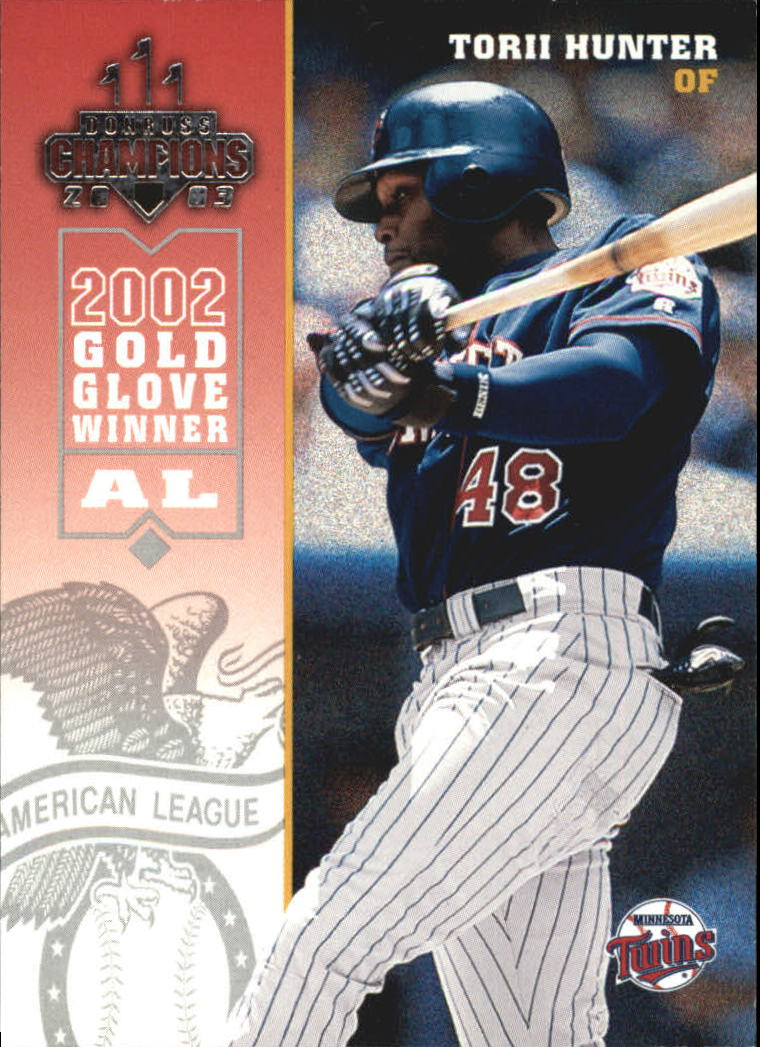 2003 Donruss Champions #158 Torii Hunter