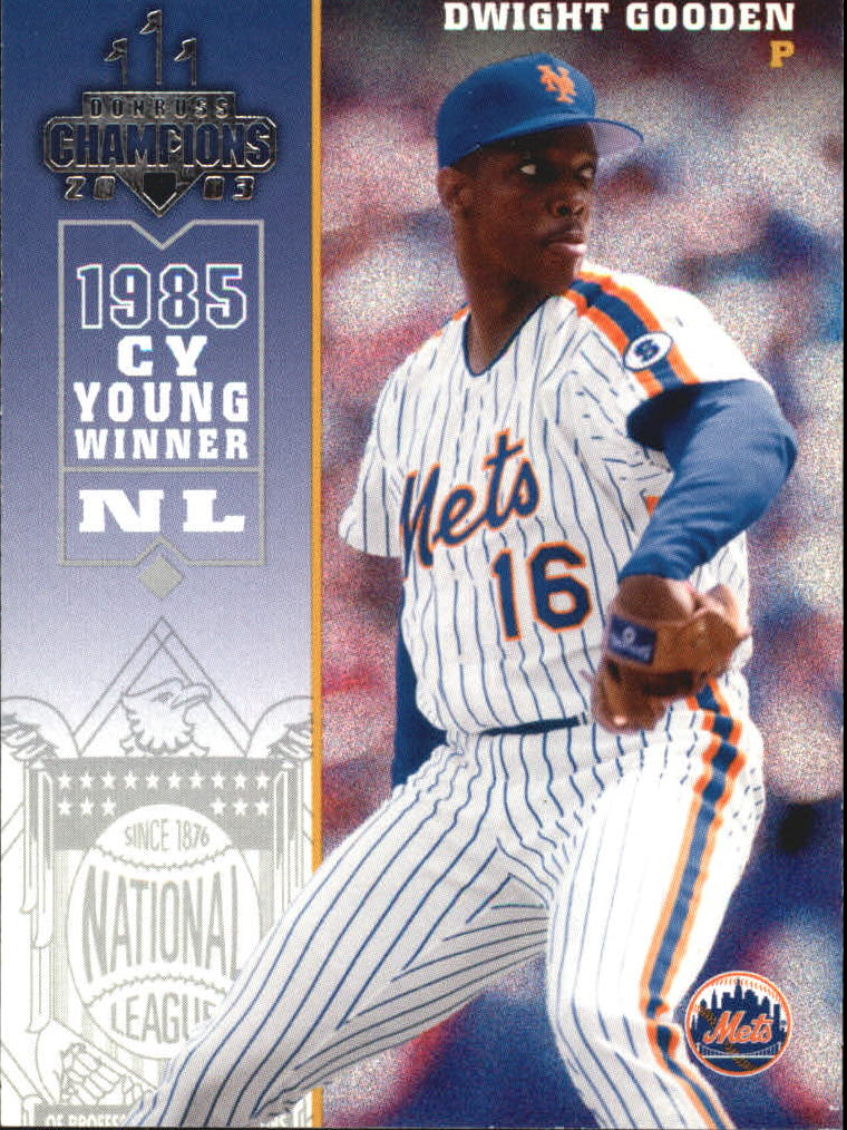 2003 Donruss Champions #164 Dwight Gooden