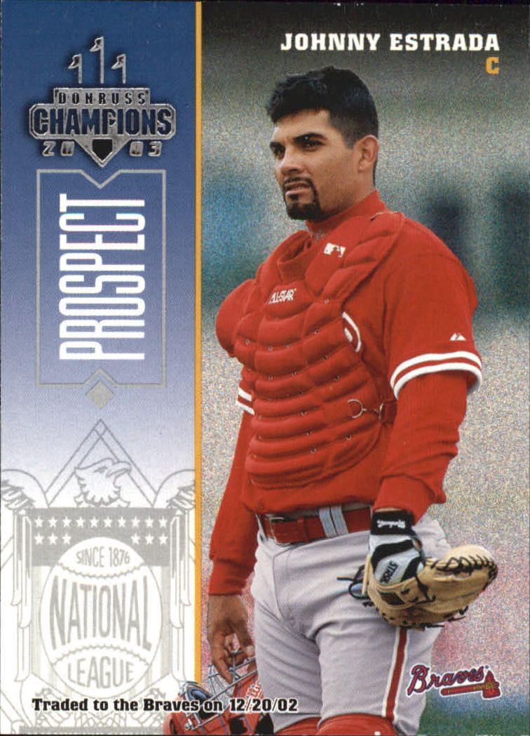 2003 Donruss Champions #197 Johnny Estrada