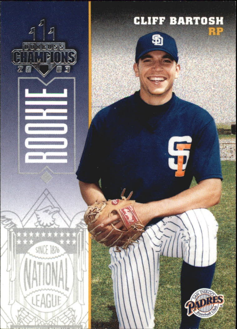 2003 Donruss Champions #215 Cliff Bartosh