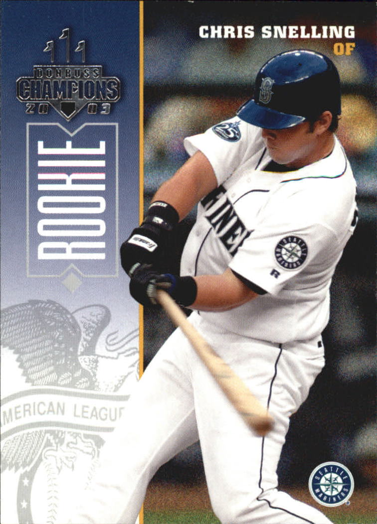 2003 Donruss Champions #233 Chris Snelling