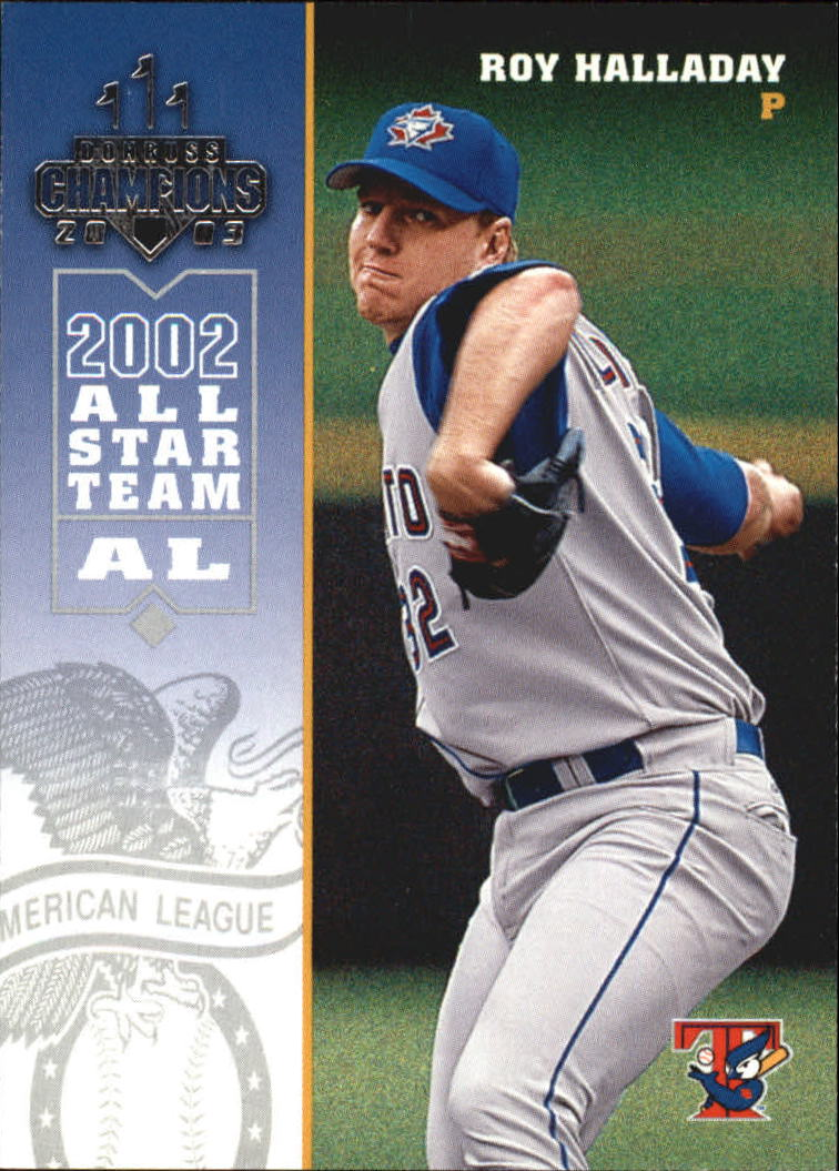 2003 Donruss Champions #271 Roy Halladay