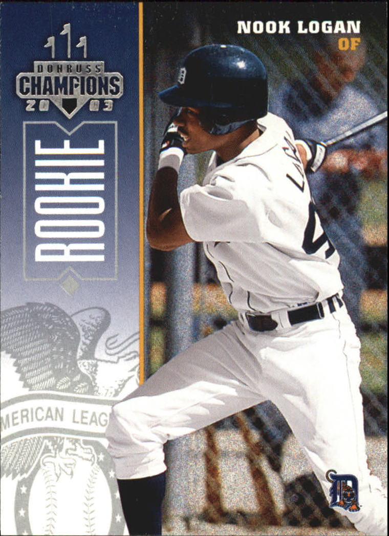 2003 Donruss Champions #288 Nook Logan RC