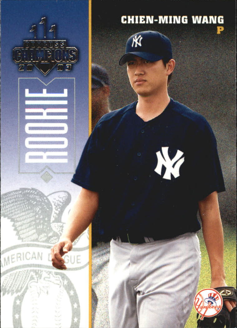 2003 Donruss Champions #304 Chien-Ming Wang RC