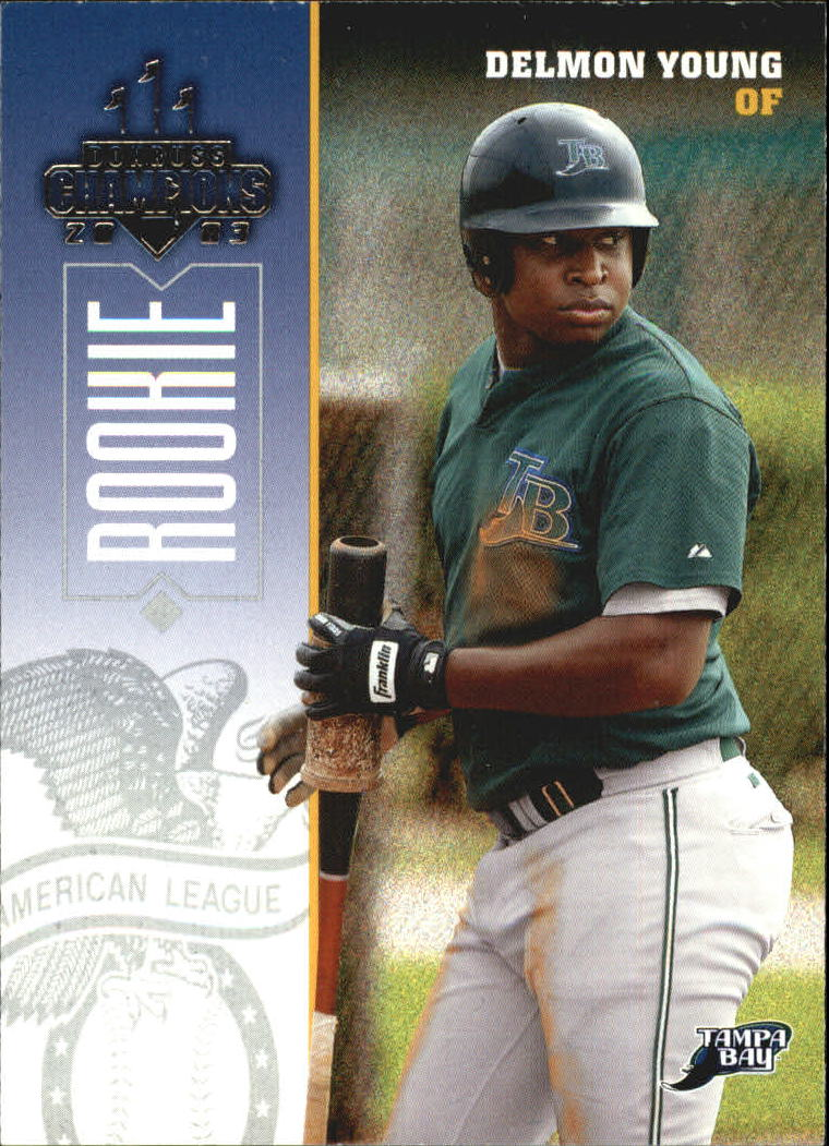 2003 Donruss Champions #306 Delmon Young RC