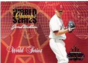 2003 Donruss Champions World Series Champs #2 Jarrod Washburn