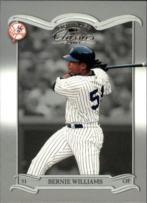 2003 Donruss Classics #90 Bernie Williams