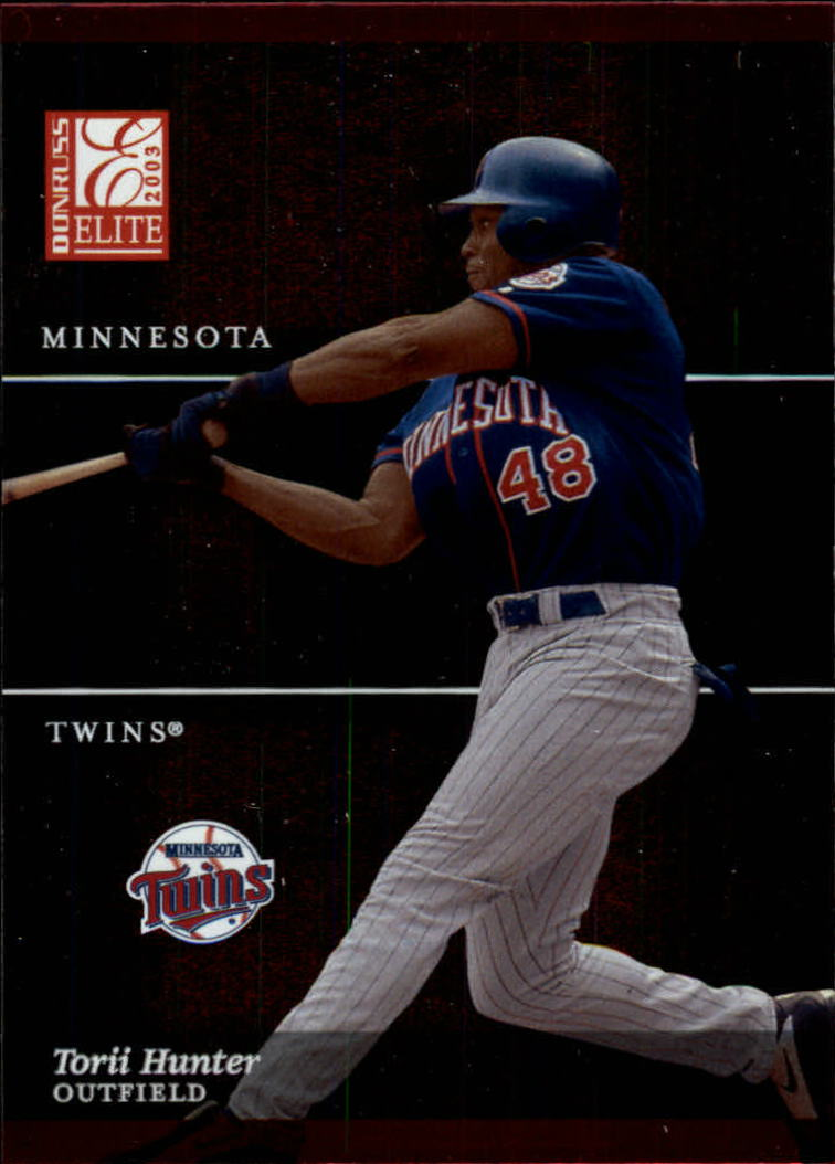 2003 Donruss Elite #42 Torii Hunter