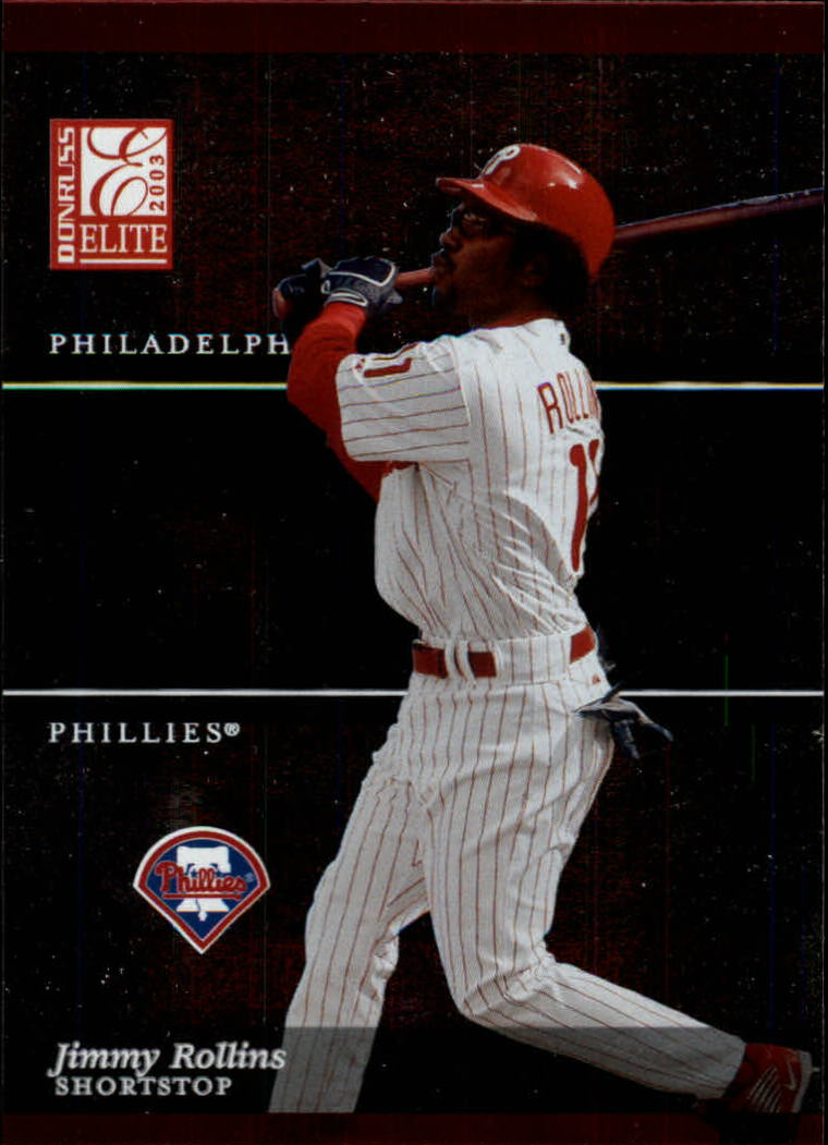 2003 Donruss Elite #141 Jimmy Rollins