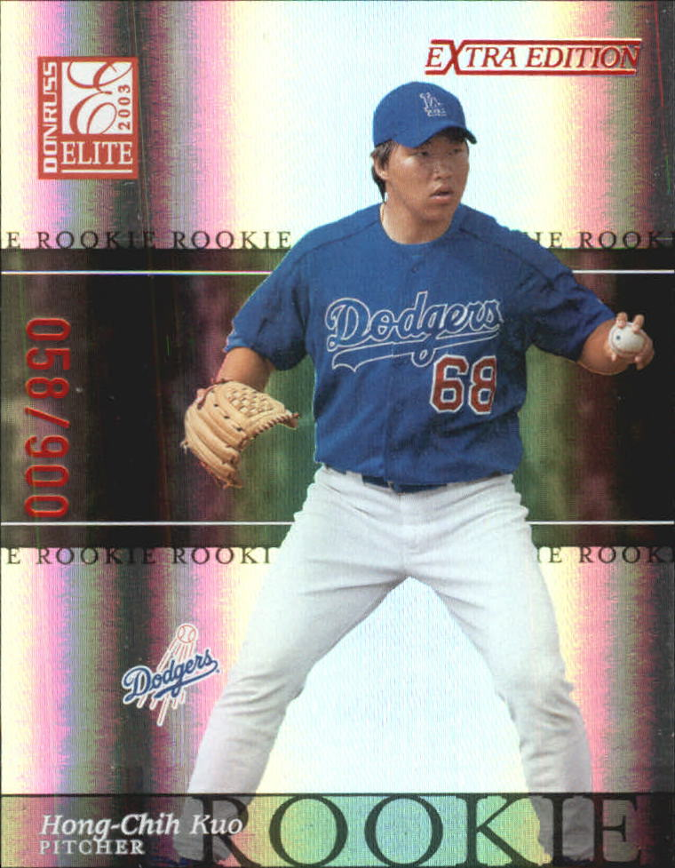 2003 Donruss Elite Extra Edition #4 Hong-Chih Kuo RC