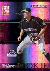 2003 Donruss Elite Extra Edition #5 Clint Barmes RC