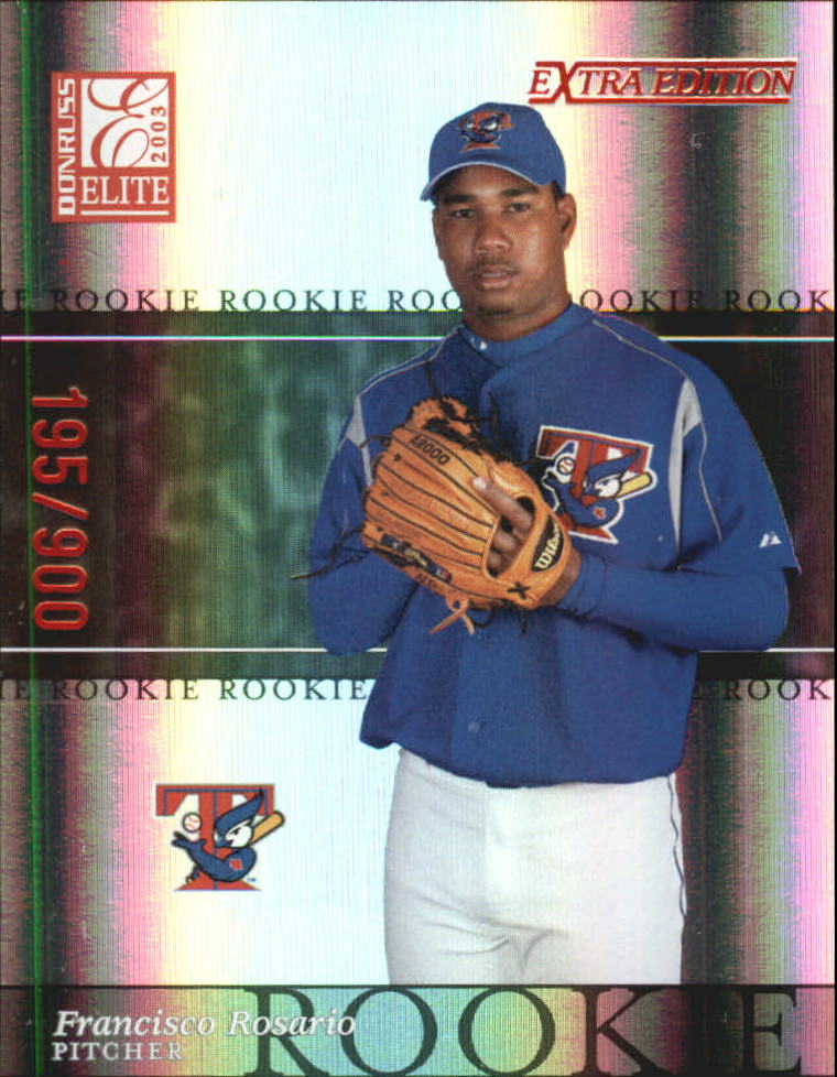 2003 Donruss Elite Extra Edition #14 Francisco Rosario RC