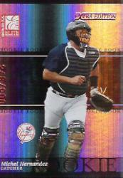 2003 Donruss Elite Extra Edition #23 Michel Hernandez RC