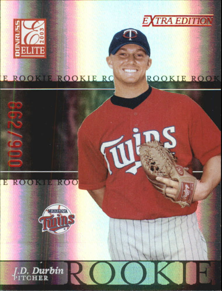 2003 Donruss Elite Extra Edition #46 J.D. Durbin RC