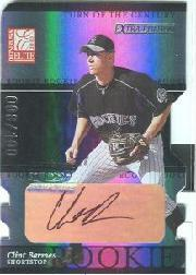 2003 Donruss Elite Extra Edition Turn of the Century Autographs #5 Clint Barmes